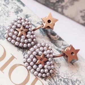 Dior Star/Heart Earings